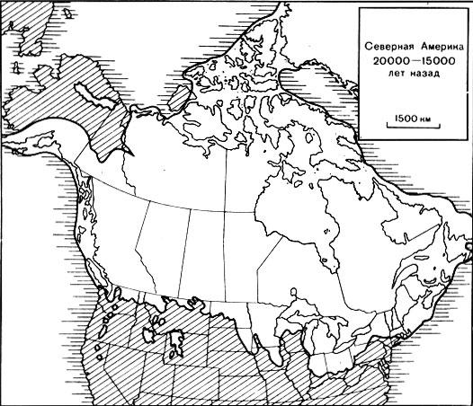 А. Северная Америка 20 000-15