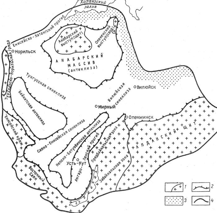 Схема региональной тектоники