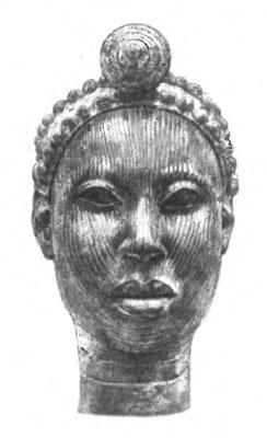 Бронзовое изделие из ифе нигерия