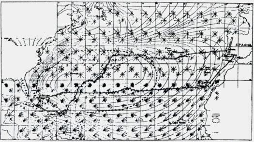 Карта маршрута первого