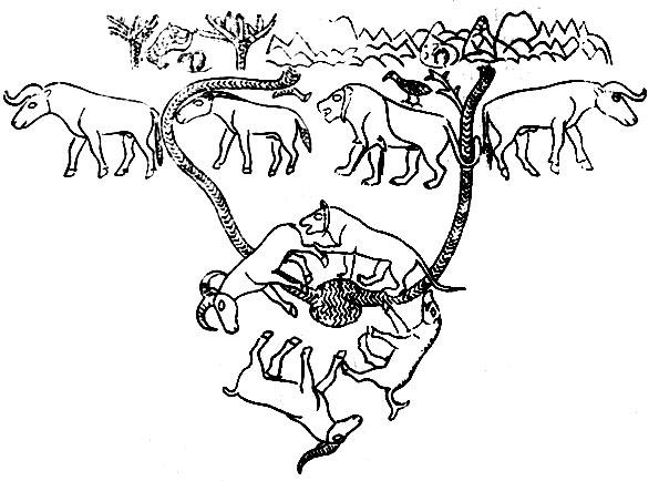 Рис 12 4 план охотничьего угодия