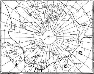 Рис. 53. Карта Арктики